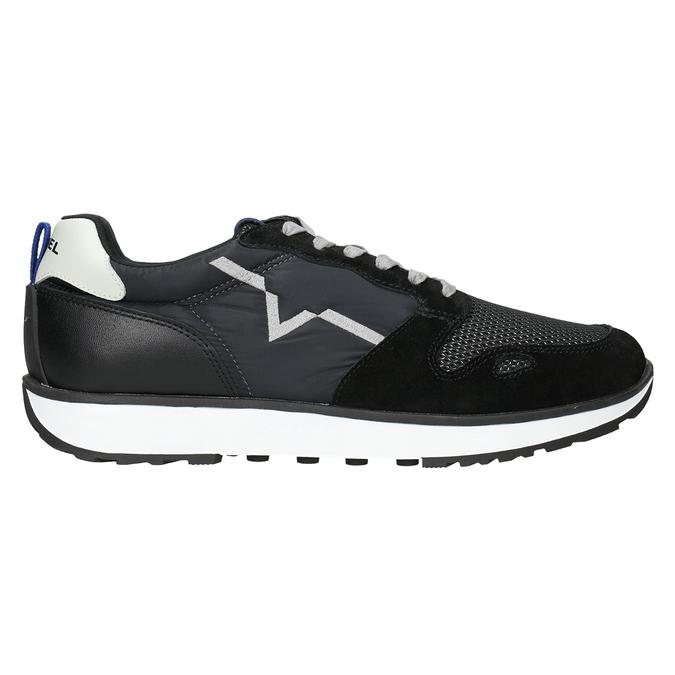 Legere Herren-Sneakers diesel, Schwarz, 809-6638 - 26