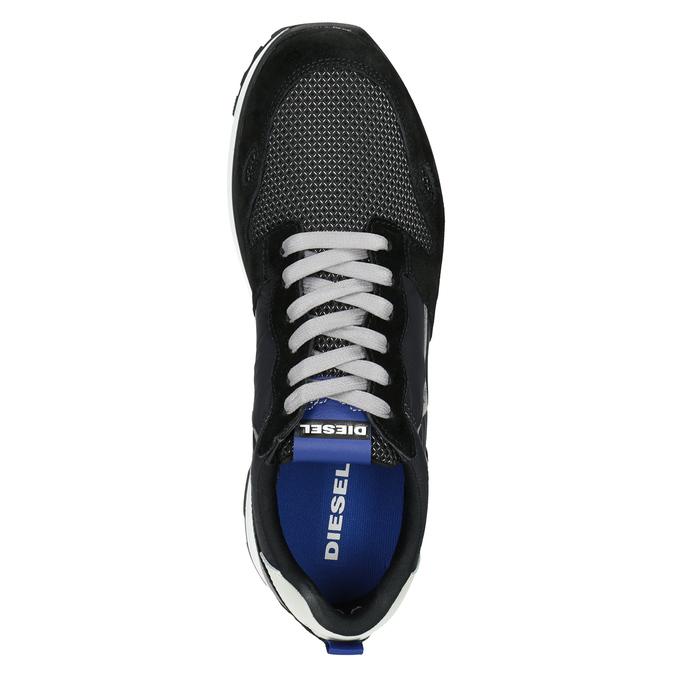 Legere Herren-Sneakers diesel, Schwarz, 809-6638 - 15