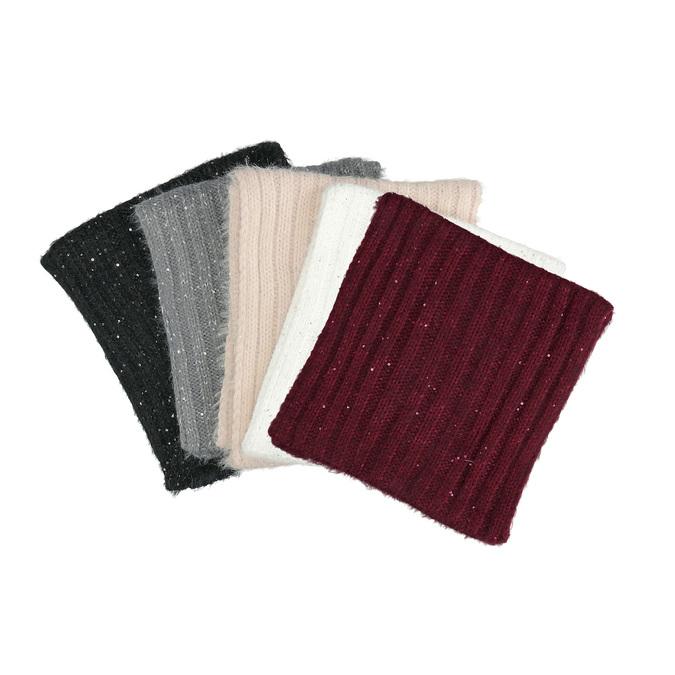 Rundschal mit Flittern bata, mehrfarbe, 909-0651 - 13