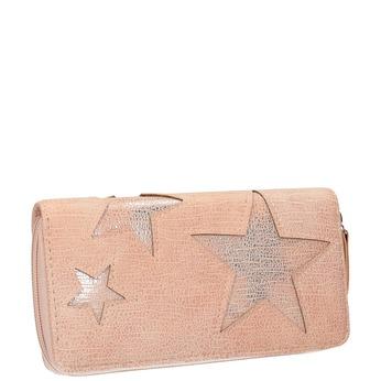 Rosa Geldbörse mit Sternen bata, Rosa, 941-5154 - 13