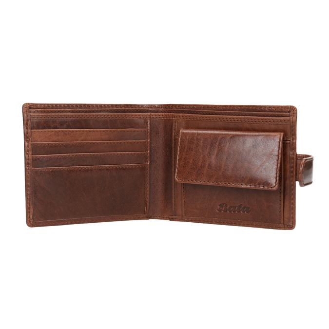 Geschenk-Set Ledergürtel und Geldbörse bata, Braun, 954-4200 - 15