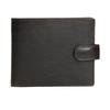 Herren-Geldbörse aus Leder, Braun, 944-4202 - 26