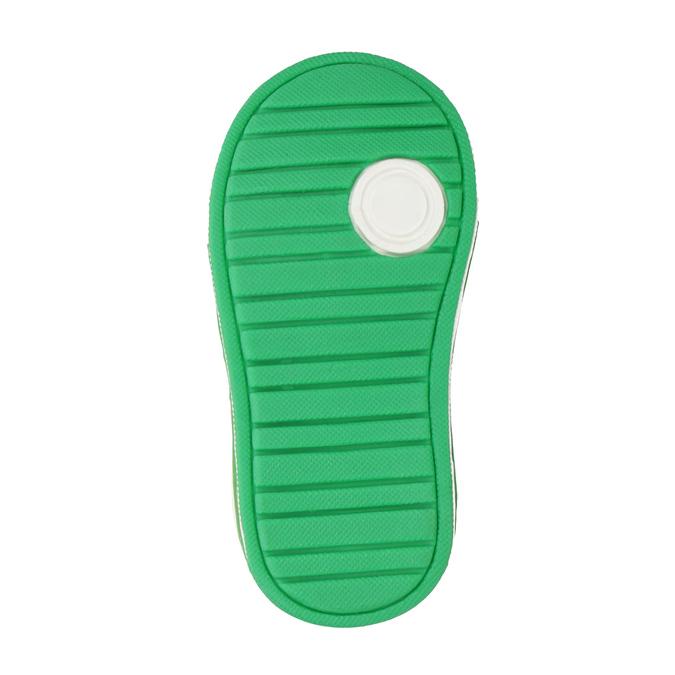 Kinder-Sneakers mit Klettverschluss bubblegummer, Grau, 111-2625 - 17