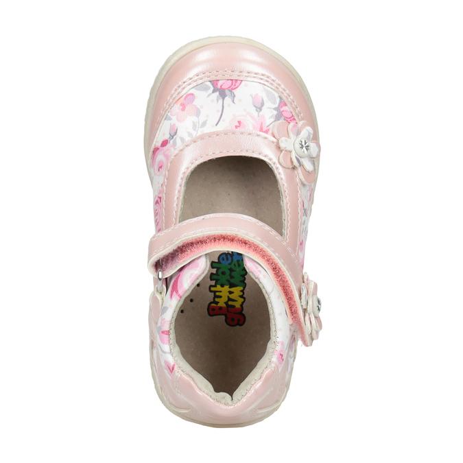 Gemusterte, rosa Ballerinas bubblegummer, 121-5621 - 15