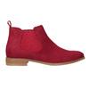 Rote Lederstiefeletten bata, Rot, 593-5611 - 16