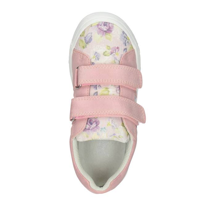 Gemusterte, rosa Mädchen-Sneakers mini-b, 221-5215 - 15