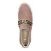 Damen-Slip-Ons aus Leder bata, 513-5600 - 17