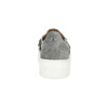 Damen-Slip-Ons mit Metallschnalle bata, Grau, 513-2600 - 15