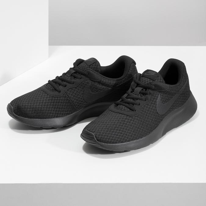 Schwarze Herren-Sneakers nike, Schwarz, 809-0557 - 16