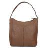 Braune Lederhandtasche bata, Braun, 964-3254 - 16